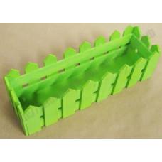 Ящик декоративный деревянный №4 490*150*h140 салатовый