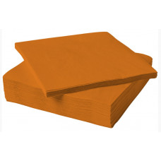 Салфетки, Оранжевый, 32*32 см, 20 шт