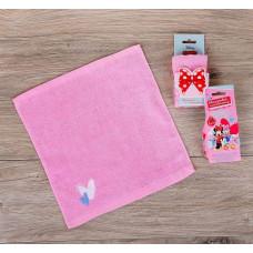 "Полотенце в открытке ""Минни Маус: Минни и Дейзи"" 30*30см"