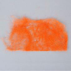 Сизаль салфетка д/декора и цветов 60см*30см оранжевый 10шт