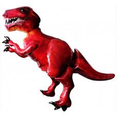 Шар (68''/173 см) Ходячая Фигура, Динозавр, Красный, в упаковке 1 шт. Anagram