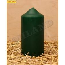 Свеча пеньковая зеленая 70х150