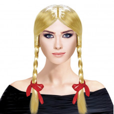"Парик ""Косички"" Блондинка Веселуха"