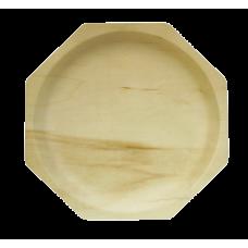Тарелка дерев. ромб 26см*2,2см 10шт