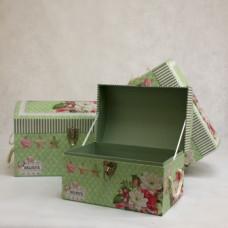 Набор коробок из 3 шт. сундуков 40.5*29*26.5-31*20*20
