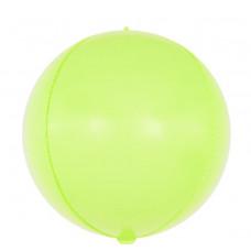 Шар (24''/61 см) Сфера 3D, Макарунс, Лайм, 1 шт. Falali