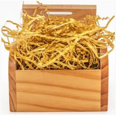 Наполнитель бумажный Насыщенное золото, Металлик, 50 гр.