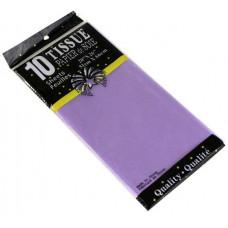 Бумага тишью 51*66см Св. Фиолетовый в листах 10листов/уп.
