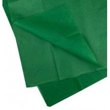 Бумага тишью 51*66см Зеленая в листах 10листов/уп.