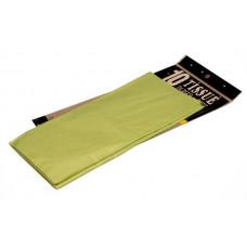 Бумага тишью 51*66см Св.зеленый в листах 10листов/уп.