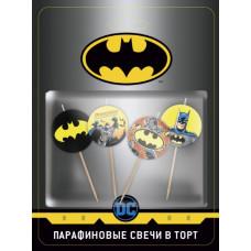 Свеча Фигура, Batman, 4 шт.