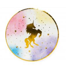 Тарелки (7''/18 см) Звездный Единорог, 6 шт. Дон Баллон