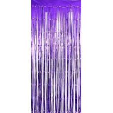 Занавес Дождик, Фиолетовый, 100*200 см