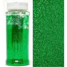 Глиттер в банке зеленый 90г