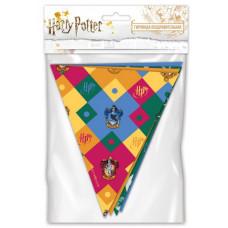 Гирлянда Флажки, Harry Potter, 200 см, 1 шт.