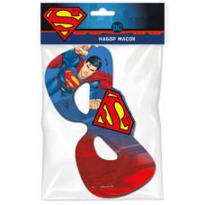 Набор масок, Superman, 6 шт.