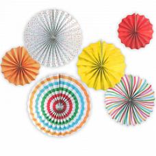 Набор декоративных дисков 6шт разноцвет Весёлый Праздник