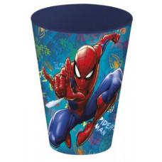 Стакан пластиковый (430 мл) Человек-паук Граффити, 1 шт.
