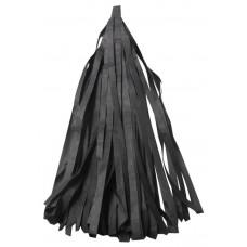 Гирлянда Тассел, Черный, 35*12 см, 12 листов
