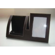 Подставка под телефон с рамкой для фото из ПВХ 18.8*7*9.8см