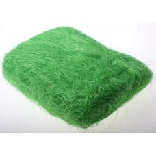 """Наполнитель для коробок """"Сизаль"""" 50гр зелёный"""