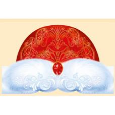 "Корона ""Дед Мороз"" 1 шт."