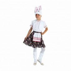 """Карн. костюм """"Зайка"""" (юбка, блузка, жилет, шапка, унты)"""