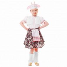 """Карн. костюм """"Овечка"""" юбка.блузка.жилет.шапка.унты 110см"""