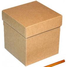 Коробка куб из 1шт 40*40*40см в ассортименте дизайн рисунка меняется