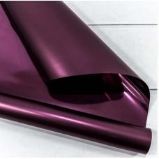 Упаковочная пленка (0,58*10 м) Фиолетовый, Металлик,1 шт.