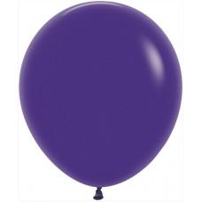 Шар (18''/46 см) Фиолетовый (051), пастель, 25 шт. Sempertex
