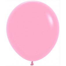 Шар (18''/46 см) Розовый (009), пастель, 25 шт. Sempertex