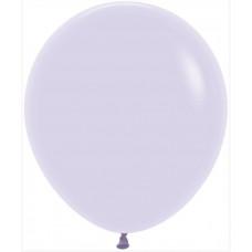 Шар (18''/46 см) Макарунс, Светло-сиреневый (650), пастель, 25 шт. Sempertex